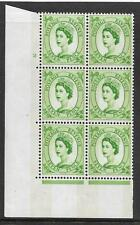 7d Wilding Violet Phosphor 9.5mm cyl 2 No Dot perf type A(E/I) UNMOUNTED MINT