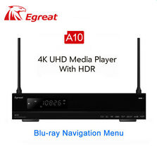 Egreat A10 4K UHD Media Player with HDR Blu-ray 3D Dolby ATOMS DTS X VIDON