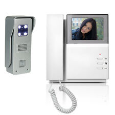 "Video Intercom Door Phone Doorbell 4.3"" Monitor + IR Night Vision Camera Wired"