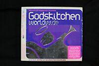 Various – Godskitchen: Worldwide  - 3 CDs - Slipcase - FATBOX (C114)