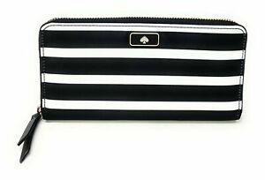 Kate Spade Dawn Large Continental Nylon Zip Around Wallet WLRU5372, WLRU5556