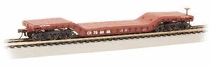 Bachmann 18342 HO Scale 52' Center Depressed Flat Car Conrail #766048
