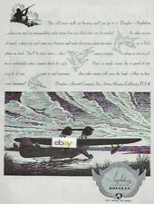 Douglas Aircraft Company Inc Santa Monica,Ca 1931 Amphibian Seaplane Hunting Ad