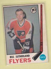 1969-70 O PEE CHEE HOCKEY BILL SUTHERLAND #172 FLYERS EX/EX+ *62765