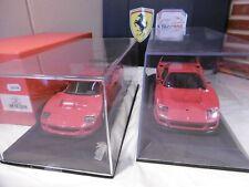 1/18 Jeu Ferrari F40 LM BBR VS MG Models.... no Hot Wheels Elite, Kyosho, CMC
