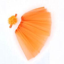 Toddler Newborn Baby Girl Tutu Skirt & Headband Photo Prop Costume Outfit