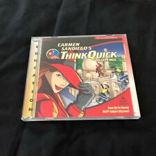 the Learning Company Where in the World is Carmen Sandiego? CD-ROM Ages 8-12