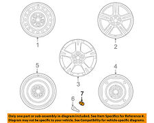 Pontiac GM OEM 09-10 Vibe Wheel-Lug Nut 19204273