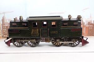 Antique 1910 Prewar Lionel Standard Gauge No.1912 NYNH&H 0-4-4-0 Electric Engine