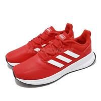 adidas Runfalcon Active Red White Men Running Training Shoes Sneakers F36202