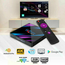 H96 Android 10.0 TV Box 2GB 16GB Quad Core HD 6K HDMI WIFI 5G Media Player US
