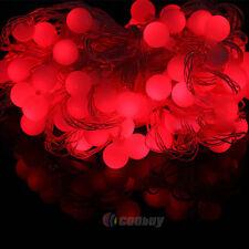 100 LED Bulbs String Lights Ball Globe Fairy Lamp Festival Xmas Indoor Outdoor