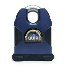 Henry Squire SS80CS Stronghold Padlocks 80mm Closed Shackle SOLID STEEL