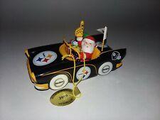 Danbury Mint 2010 Pittsburgh Steelers Nfl Victory Car Ornament In Box