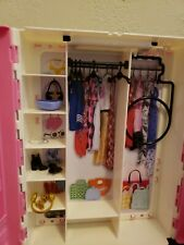 💫Barbie Closet💫With 4 hangers*💞And comes with 5 Extra Accessories!🎆💫💞