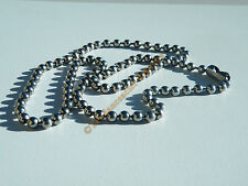 Collier Chaine 55 cm 100% Acier Inoxydable Boules 4 mm