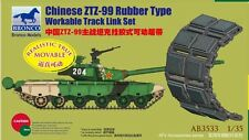 Bronco Models 1/35 Chnese Type 99 MBT Rubber Type Workable Track # AB3533
