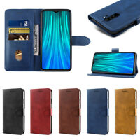 For Xiaomi Redmi Note 8 Pro Luxury PU Leather Card Wallet Flip Case Cover Shell