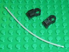 LEGO TECHNIC flexible 10L ref 342c01 + 2 flex cable Ball End ref 6644 / Set 8008
