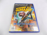 Mint Disc Playstation 2 Ps2 Destroy all Humans 1 I First Game Free Postage