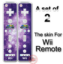 Super Mario New Galaxy Style Skin Decal Sticker Cover for Nintendo Wii Remote