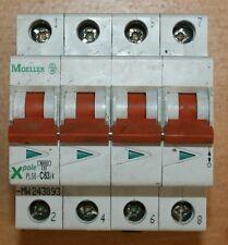 DISJONCTEUR 63A, 4 p, type C  MOELLER - PLS6-C63/4-MW