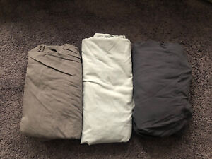 Single Bed Fitted Sheets Bundle Next x 3 Grey