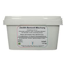 Zeolith-bentonit Mischung reines Naturprodukt 1 5 Kg