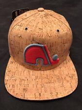 """Zephyr NHL Quebec Nordiques """"Cork Dynasty"""" 5 panel flat bill SnapBack hat."""