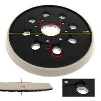 123mm Sanding Backing Pad Mat for BOSCH Sanders PEX 220 A/220 AE, Skil 7402/7490