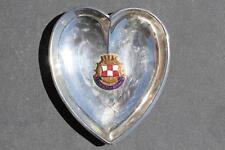 CANADIAN PACIFIC LINE EMPRESS OF AUSTRALIA OCEAN LINER SOUVENIR HEART PIN DISH