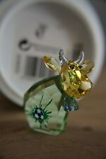Swarovski Soccer Champion Mo, Lt. Ed. 2014 Cow Bull Crystal Figurine MIB 5004629