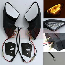 Rear View Side Mirrors Turn Signal For Ducati 848 1098 1098S 1098R 1198 S R