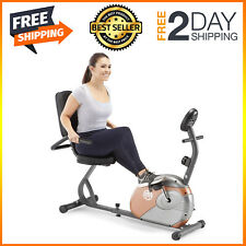 Marcy Recumbent Exercise Bike with Resistance Me-709 New