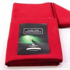 HAINSWORTH Elite Pro Bed & Cuscino Set per 7 FT (ca. 2.13 m) UK Tavolo da Biliardo-Rosso