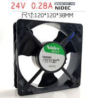 for Nidec Beta V TA450DC (A31257-16A) 119mm x 119mm x 38mm 24V DC Cooling Fan