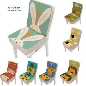 2Pcs/Set Booster Seats Cushion Children Increased Chair Pad Anti-Skid Waterproof