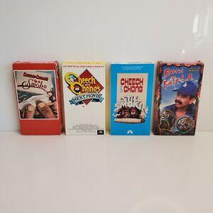 Vintage Cheech & Chong VHS Video Lot Up In Smoke Next Movie Still Smokin East LA
