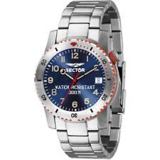 Orologio Uomo SECTOR DIVE 300 R3253598002 Bracciale Acciaio Blu Sub 300mt Elio