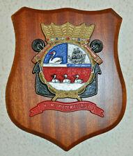 Hr Ms Pieter Florisz plaque shield crest Dutch Navy gedenkplaat HNLMS