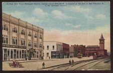 Postcard EL PASO Texas/TX  Mine & Smelter Supply Co Building view 1907?