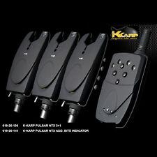 KKARP KIT SEGNALATORI ACUSTICI CARP FISHING 3+1 PULSAR NTX  K-karp