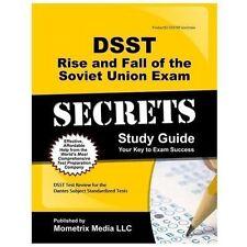 DSST Rise and Fall of the Soviet Union Exam Secrets Study Guide: DSST Test Revie