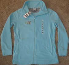 ADIDAS GS P FLEECE TRACK TOP JACKET SMALL S SM WOMENS CRYSTAL INFINITY LADIES
