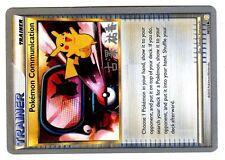 PROMO POKEMON CHAMPIONSHIPS 2010 No. 98/123 COMMUNICATION PIKACHU (Sign worm. 1)