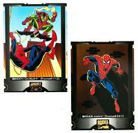 1995 Fleer Ultra Spider-Man Cookie Crisp Lot of 2 Cards Spider-Man/Green Goblin