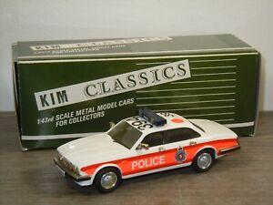 1992 Jaguar XJ6 Police - Kim Classics 6P England 1:43 in Box *49655
