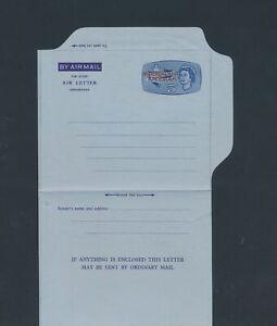 XC59107 Anguilla overprint postal stationery aerogramme unused