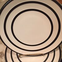 Pfaltzgraff Empire Salad Plates Black Stripe Set Of Two