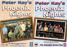 PETER KAY'S PHOENIX NIGHTS 2006 COMPLETE SERIES 1 2 NEW AND SEALED UK R2 DVD